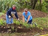 Chinquapin Tree Parole volunteer Make a Difference Day 2020