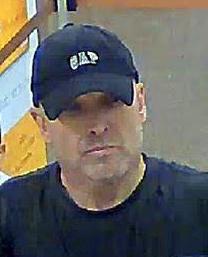 Fletcher Dorsett, 51, Photo from Bank Robbery
