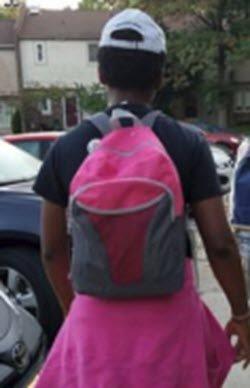Paul Rodriques - backpack