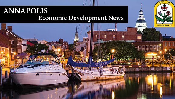 Annapolis Economic Development Newsletter Banner