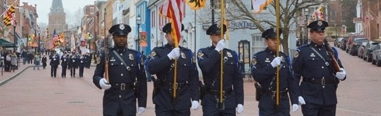 Annapolis Police Department Daily Activity Report Banner