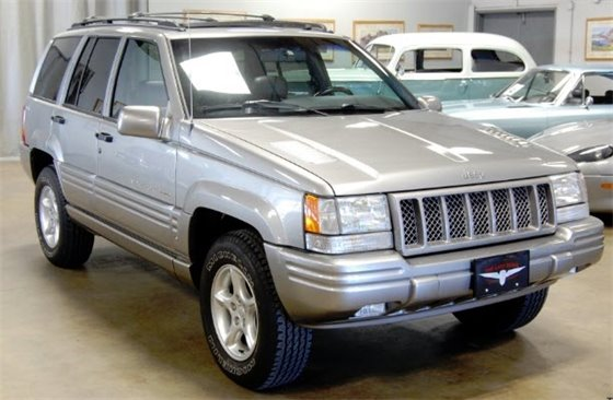 1998 Jeep Grand Cherokee - Not Actual Vehicle