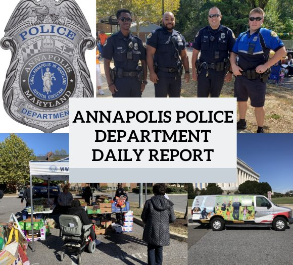 Annapolis Police Department Daily Report