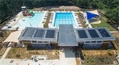 Truxtun Park Pool aerial view
