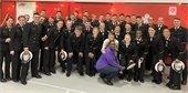 math mall event USNA midshipmen volunteers picture