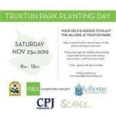 Truxtun Park Planting Day