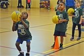 Pee Wee Hoops youth basketball