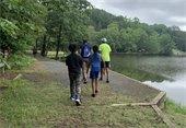 campers at Waterworks Park