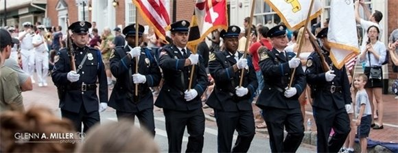 Annapolis Police Department and Fire Department Honor Guard