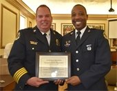 Chief Baker and Corporal Parker