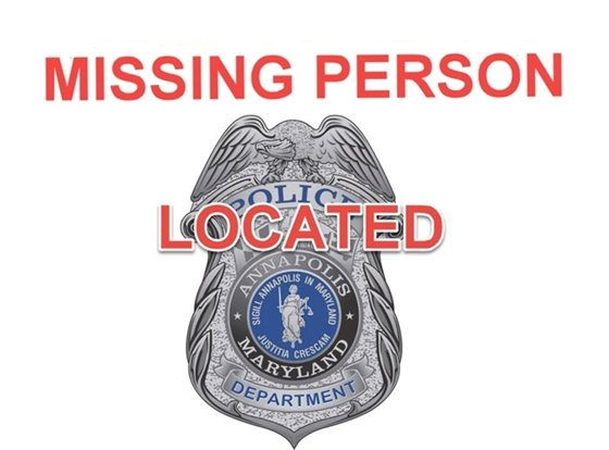 UPDATE - Missing Person Located