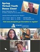 Leandra Parkinson virtual dance class imag