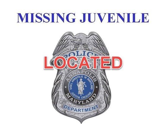 LOCATED Missing Juvenile