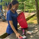 individual camper backpacks