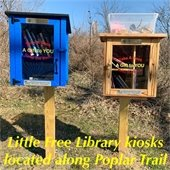 Little Free Library kiosks