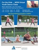 youth dance flyer