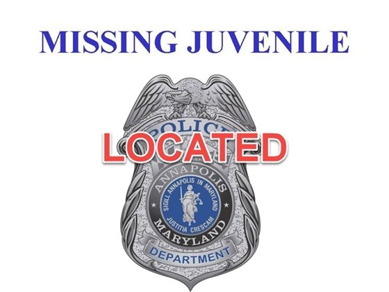 Located Missing Juvenile