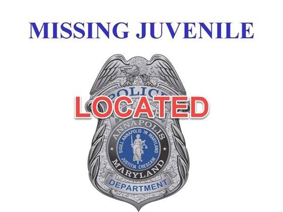 Missing Juvenile - Located