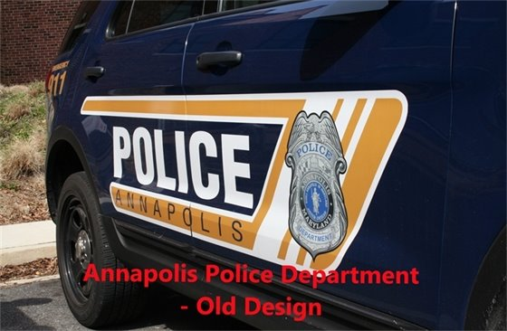 Police Vehicle Old Design