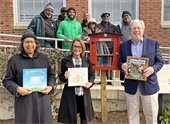 Little Free Library Unveiled at Stanton Center November 2019
