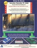 The Polar Express Drive-In Movie Night flyer