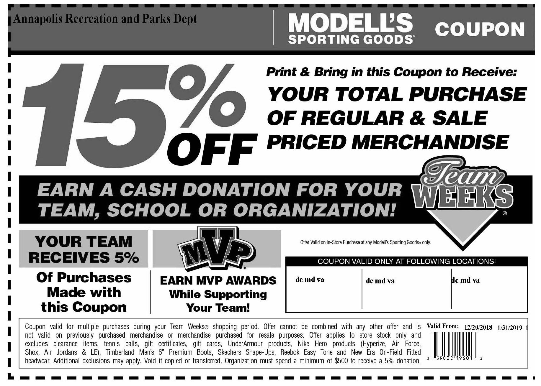 Modells Coupon 122018-013119