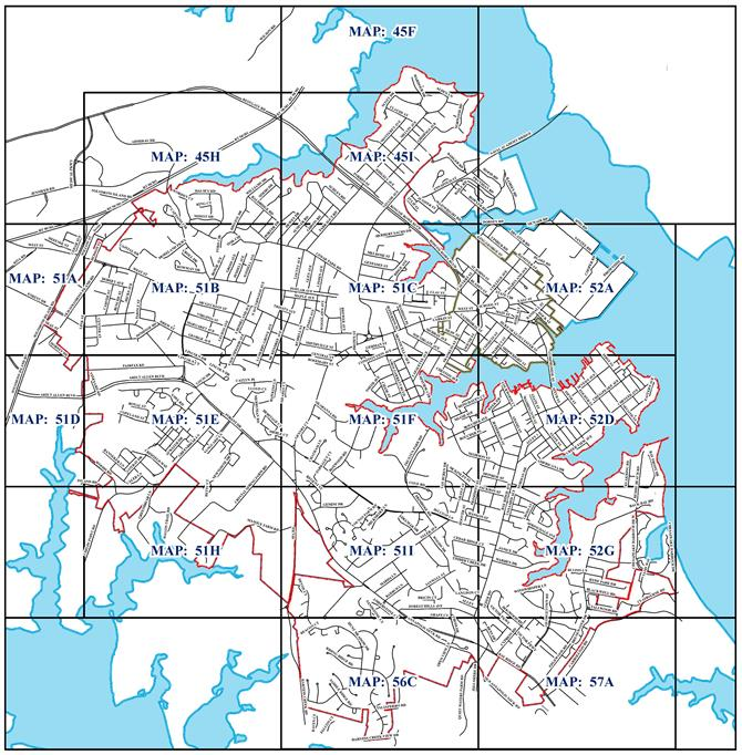 Zoning Maps Annapolis MD - Anápolis map