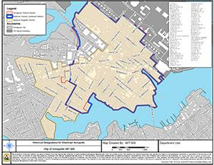 Annapolis Historic District Map