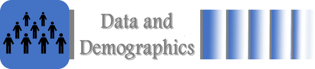 data and demographics banner