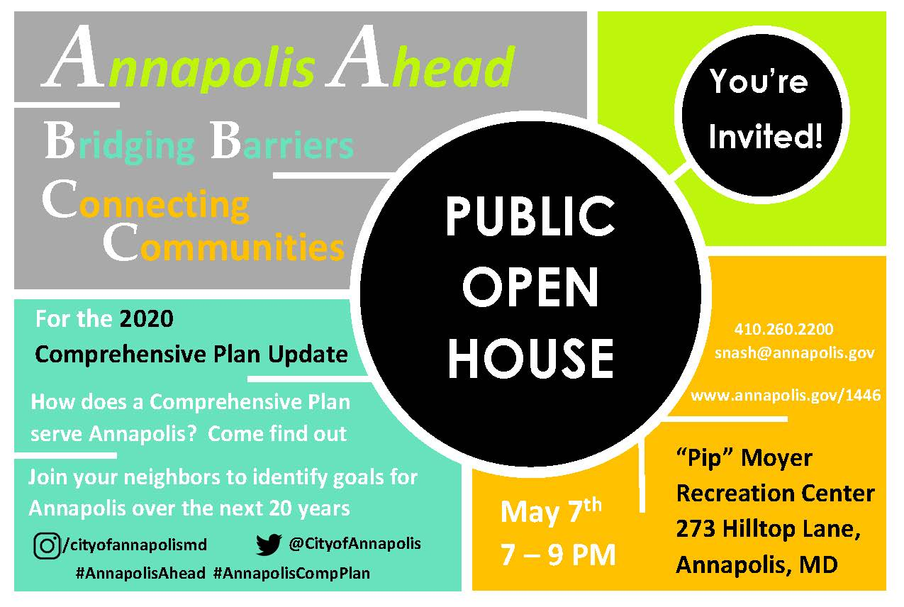 May 7 Open House Flyer