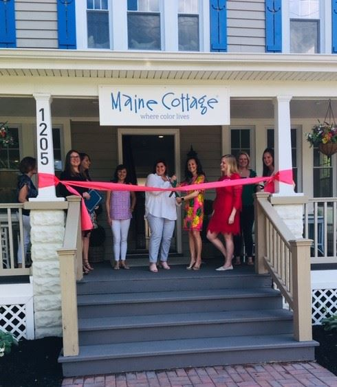 Mayor's office helps cut ribbon at Maine Cottage grand opening on West Street