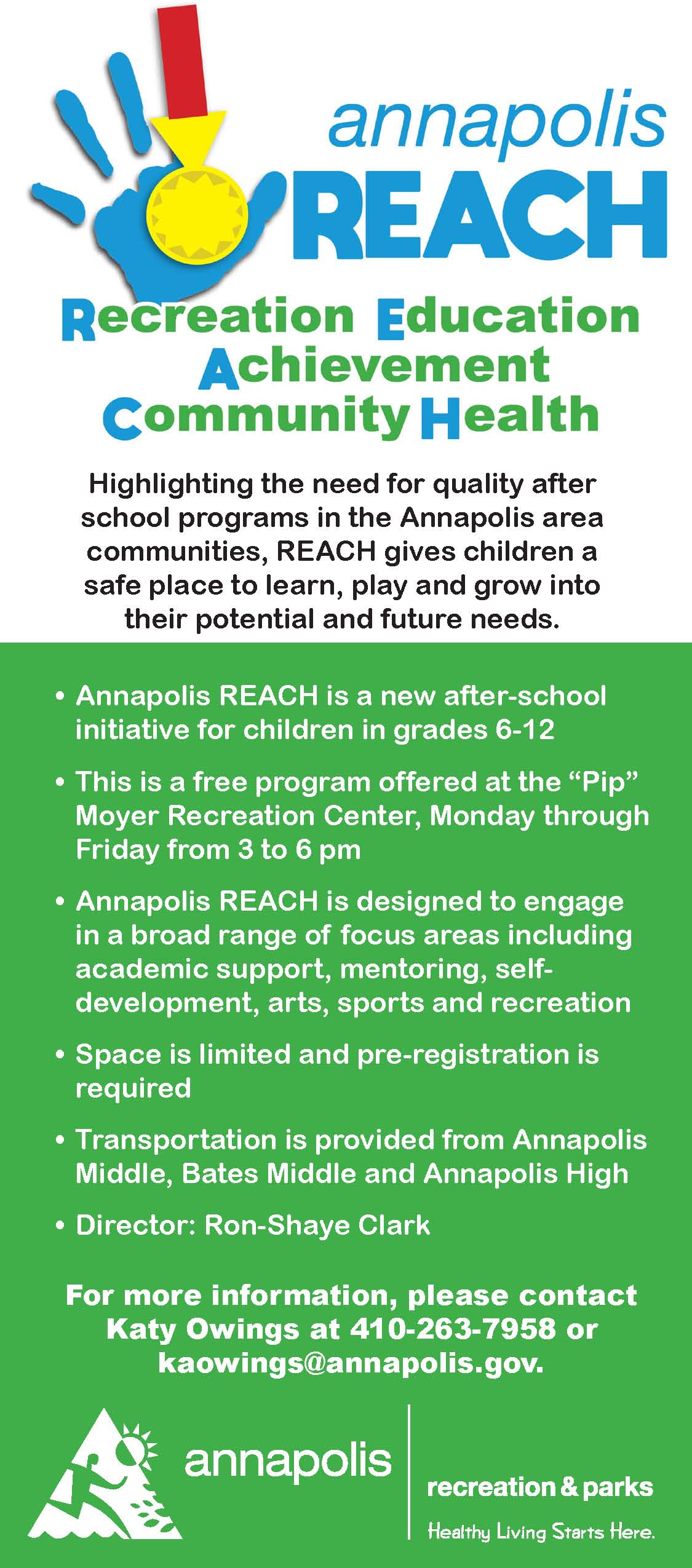 Annapolis Reach postcard fall2019