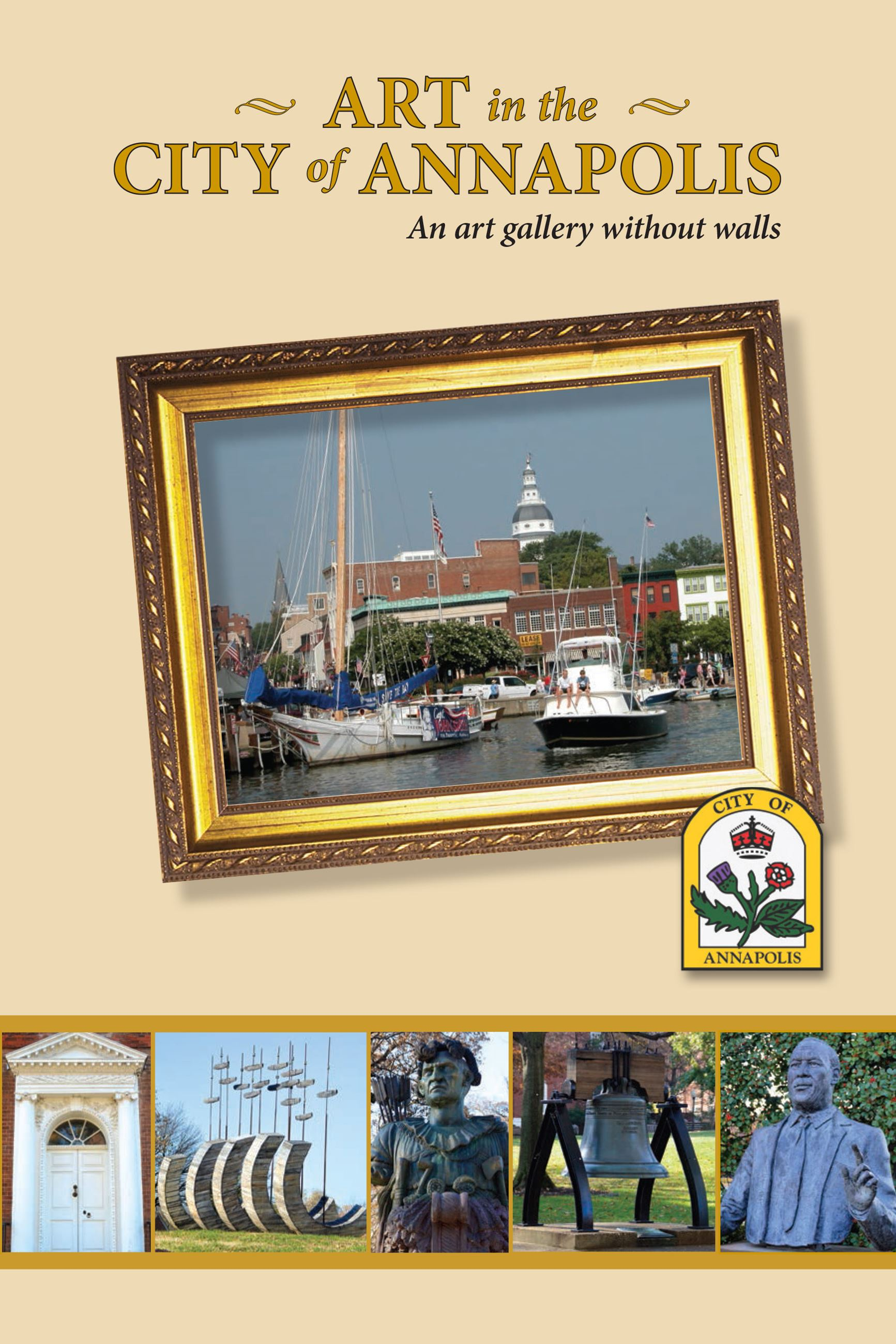 Art in the City of Annapolis Catalogue Cover