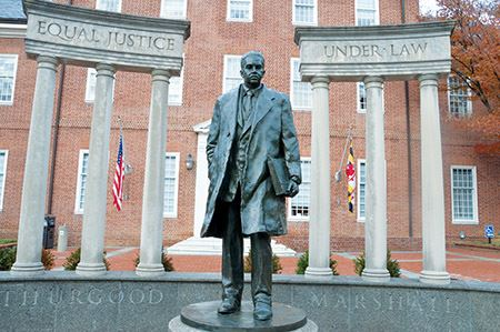 Statue of Thurgood Marshall