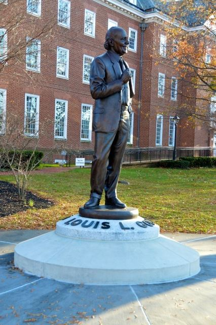 Statue of Louis L. Goldstein
