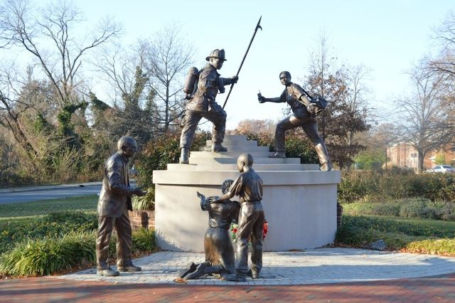 The Maryland Firefighters Memorial
