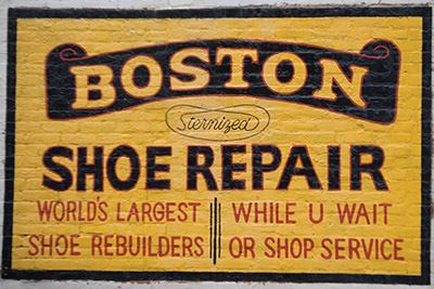 Boston Shoe Repair Advertising