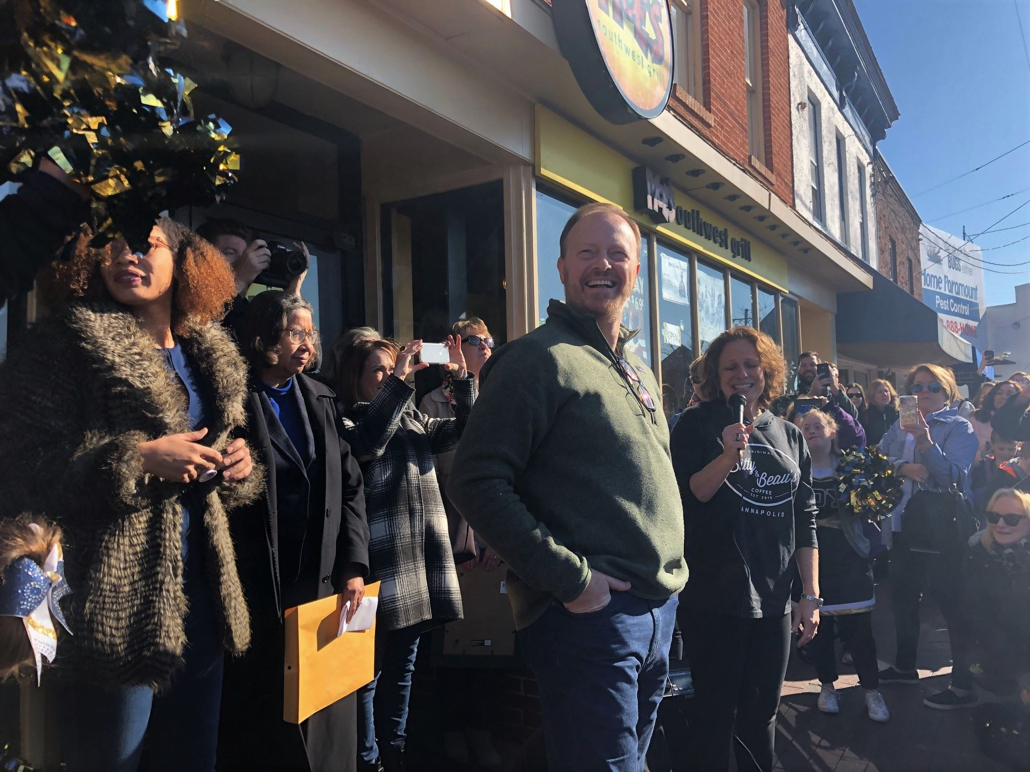 Ribbon Cutting at Bitty and Beau's Coffee