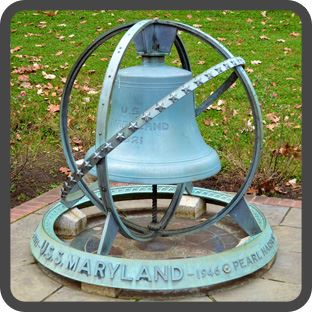 Bell of the USS Maryland