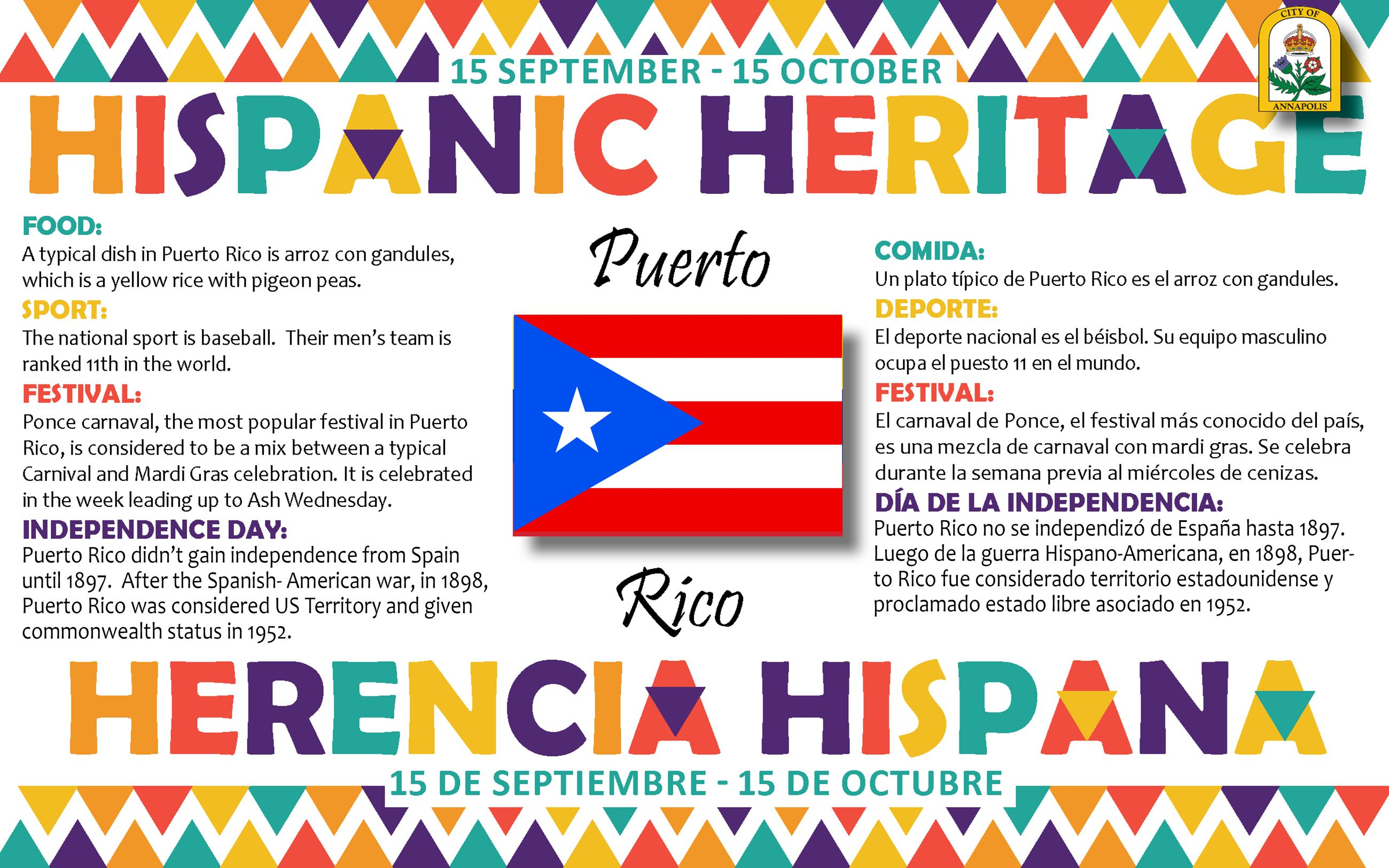 Information About Puerto Rico