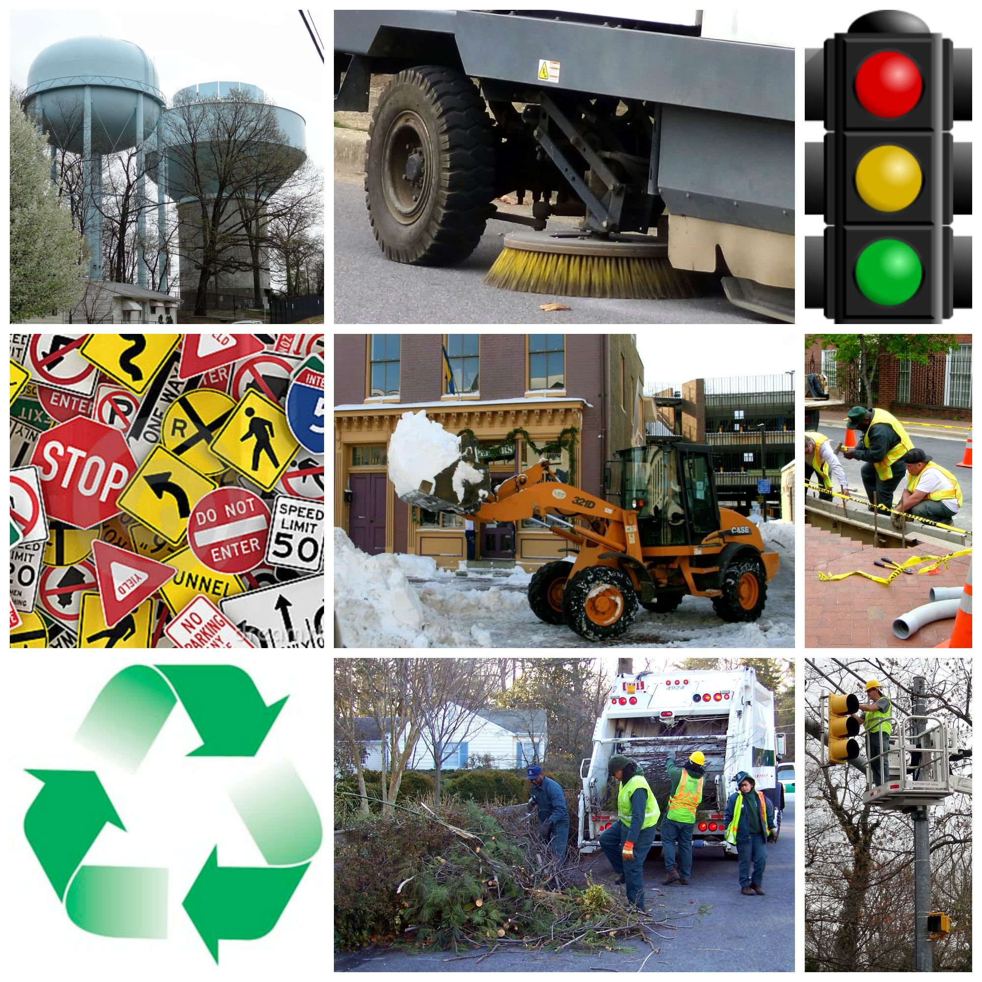 Public Works Collage