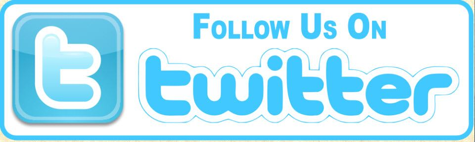 A graphic saying Follow Us on Twitter.