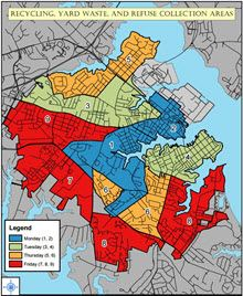 Solid Waste Collection Map