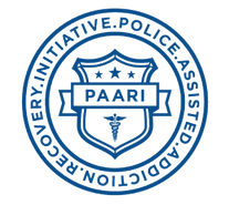 The logo for Police Assisted Addiction and Recovery Initiative (PAARI)