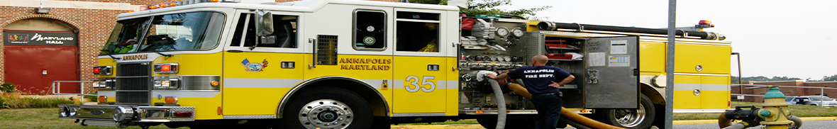 Annapolis Fire Truck