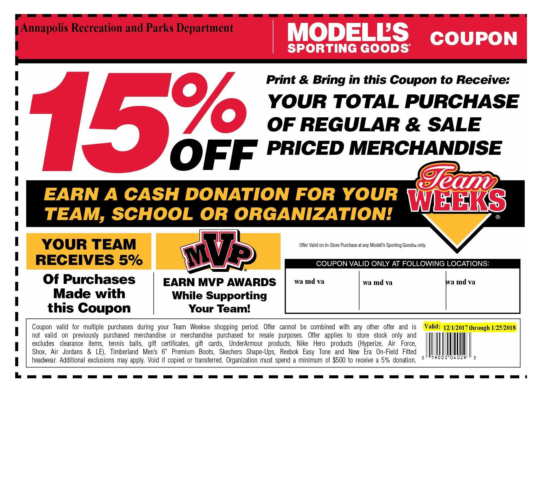 Modells Coupon 120117-012518