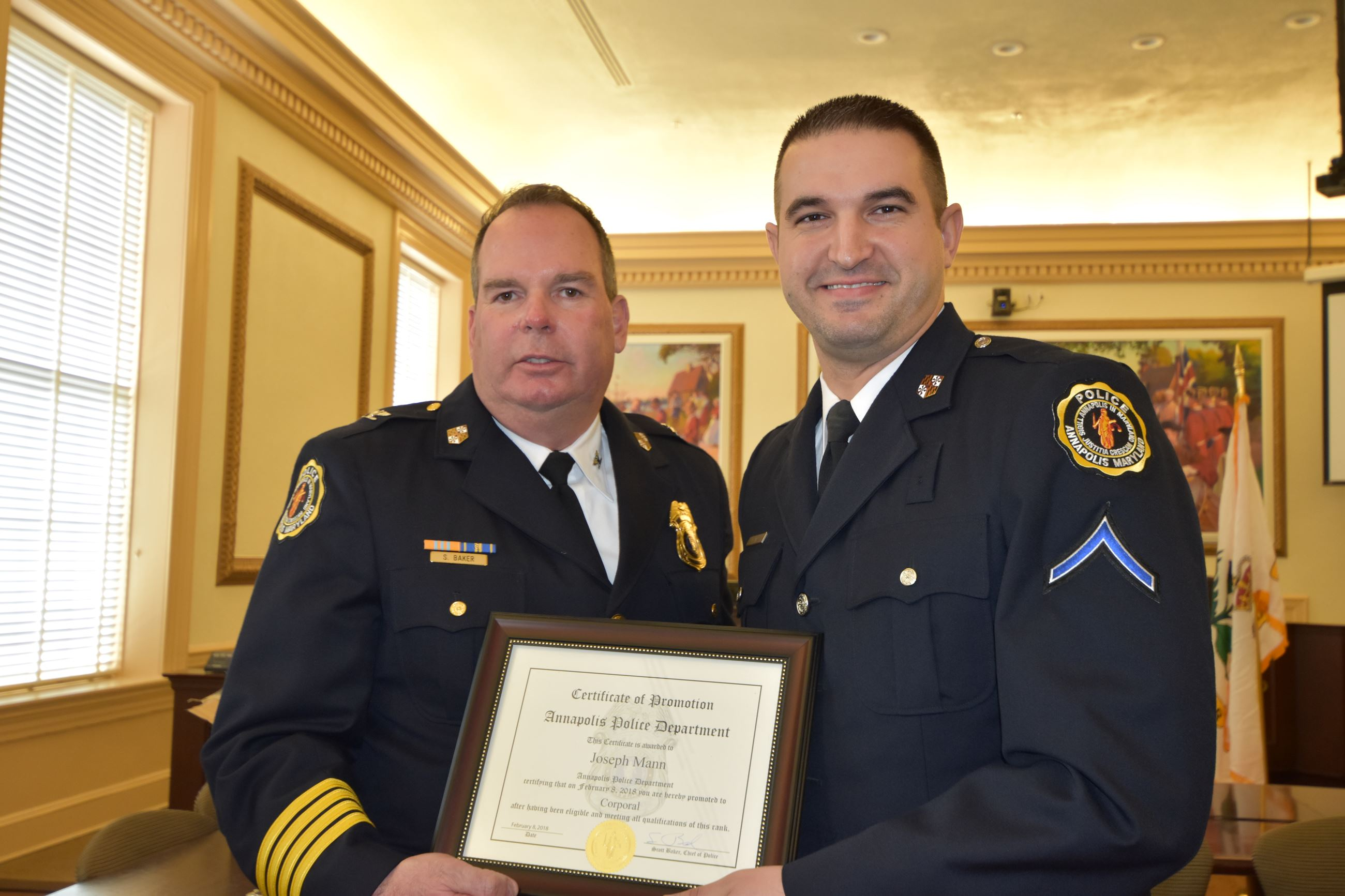Officer Awards & Promotions   Annapolis, MD