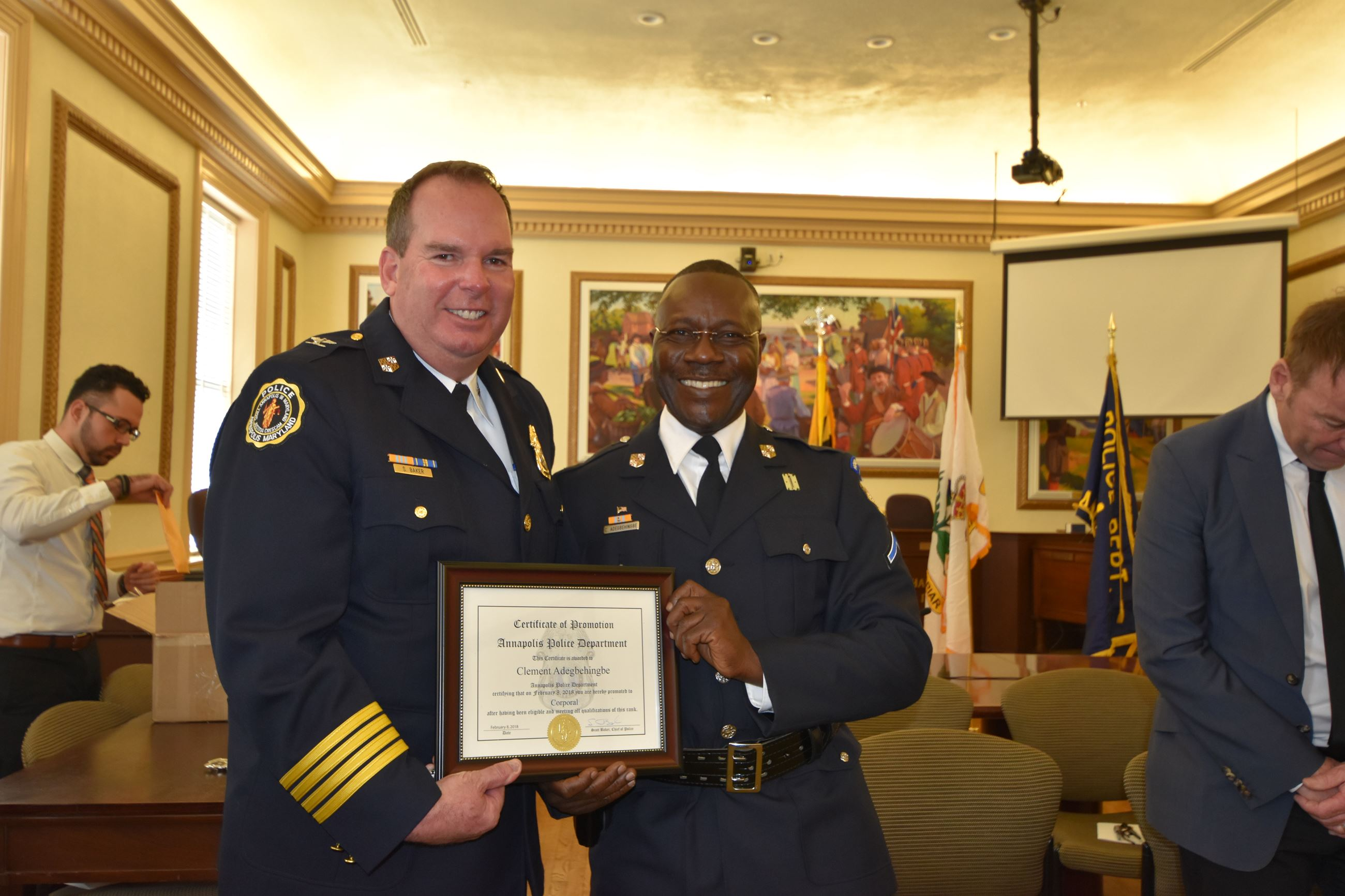 Officer Awards & Promotions | Annapolis, MD