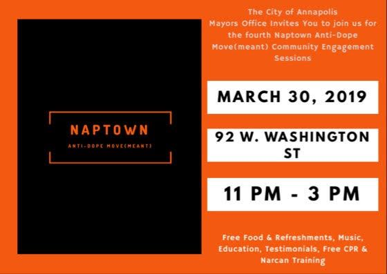 naptown anti-dope event poster