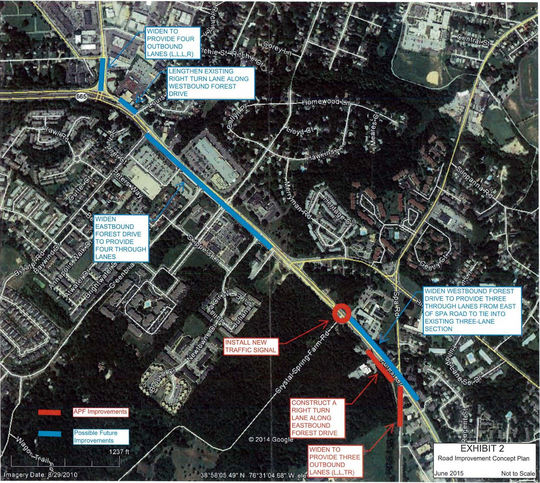 Forest Drive Corridor Study 2015